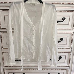 Abercrombie and Fitch button down blouse